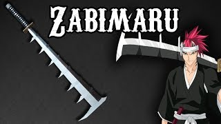 ZABIMARU - RENJI ABARAI - BLEACH - EPEE (cosplay) TUTO FR