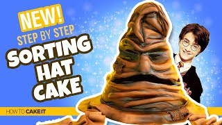 How To Make A Sorting Hat!! | HARRY POTTER CAKE by Shannon Murphy | How To Cake It Step By Step