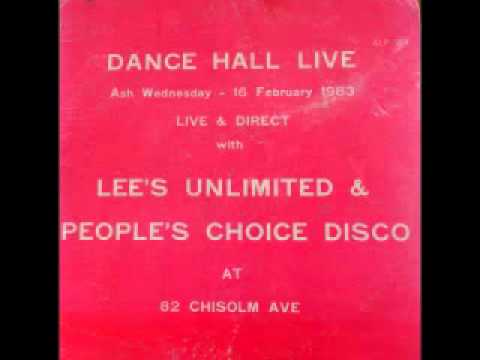 LEE'S UNLIMITED & PEOPLE'S CHOICE DISCO - Live & Direct at 82 Chisolm ave (1983 Arrival)