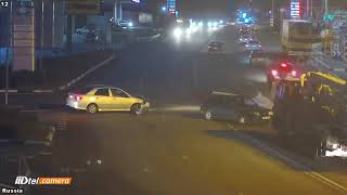 Car Crash very Shock dash camera 2017