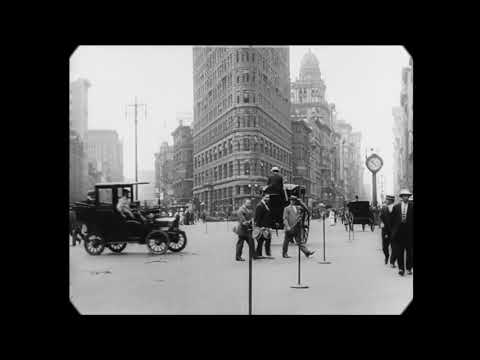 Это немыслимо! Видео Нью-Йорка. 1911 год.