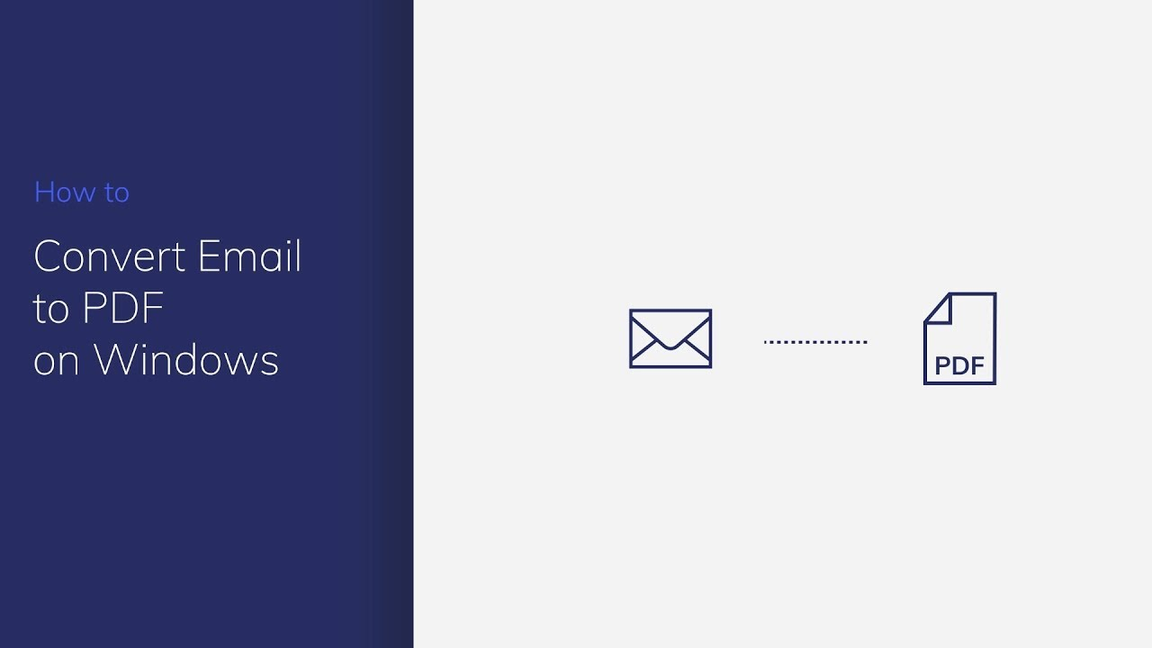 How to Save Outlook Email as PDF (3 Methods Available