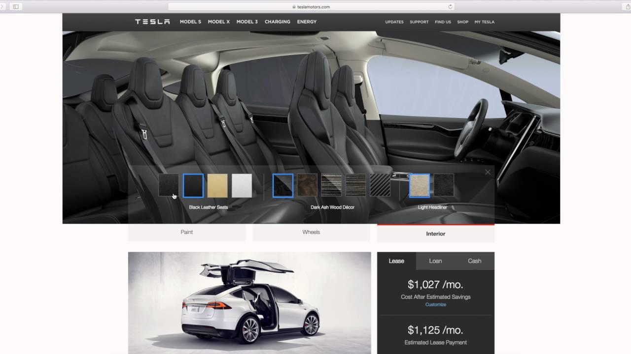 Best Tesla Model X Color Combo