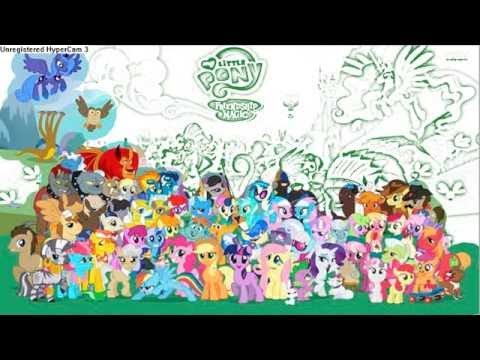 My Little Pony Coloring Pages Game #45🎨 💖, Май Литл ПОНИ ...