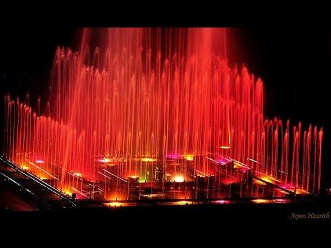 Musical Fountain at Mysore KRS Dam !! Enjoyyy