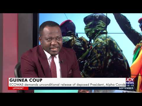 ECOWAS to structure roadmap for Guinea to return to constitutional rule - UPfront ( 16-9-21)
