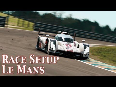 P CARS2: Race Setup (Audi R18 e-tron @ Le Mans)