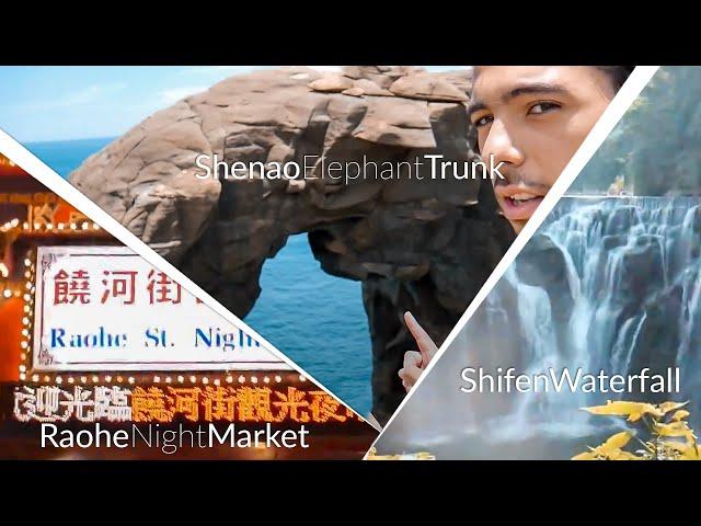 Taiwan Summer 2018 - Raohe Night Market | Shenao Port | Shifen