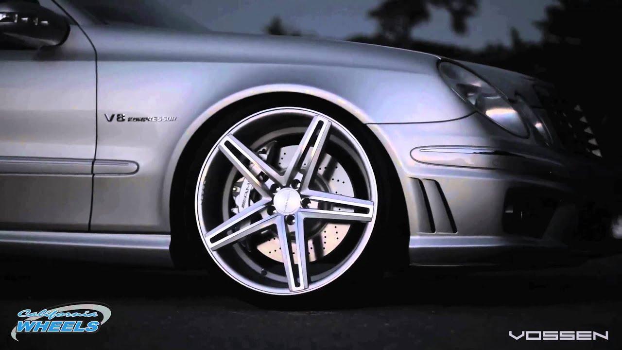 Mercedes Benz E55 Amg On Vossen Cv5 Wheels By California