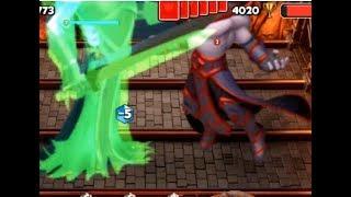 [EN] Giant Spectre with 5 GIANT GROWTH vs Giant Dark Angel