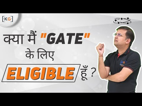 Part 2 What is the Eligibility of GATE Exam eligibility criteria in hindi gate 2019 cse age fee