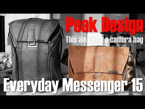 ついに日本上陸!ピークデザインのカメラバッグがやってきた!前編 / Everyday Messenger 15