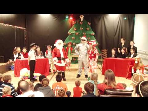 ALL STARS PERFORMING ARTS-Santa Big Trouble