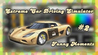I UNLOCKED THE FASTEST CAR ! - Extreme Car Driving Simulator Funny Moments #2