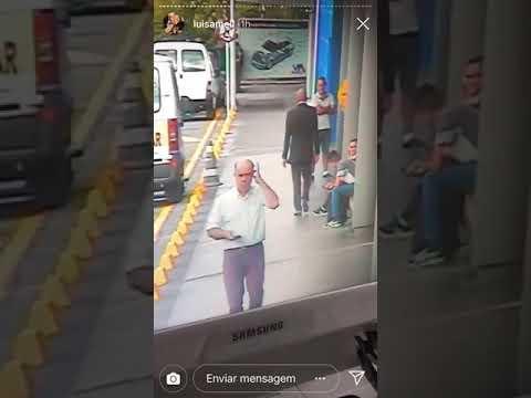 LUISA MEL MOSTRA CACHORRO SENDO ESPANCADA NO CARREFOUR