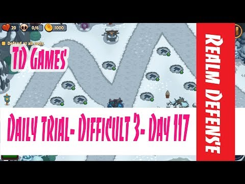Realm Defense- Daily Trial- Difficult 3- Day 117