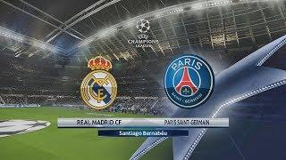 Champions League 2018: OCTAVOS de FINAL | Real Madrid vs PSG | PES 2018