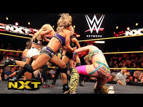 NXT Women's Championship No. 1 Contender's Battle Royal: WWE NXT, Jan. 13, 2016