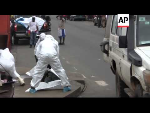 World - Ebola outbreak