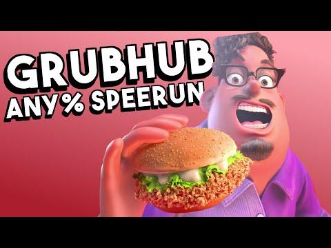 GrubHub AD Speed run in 28:08 (ANY%) WR