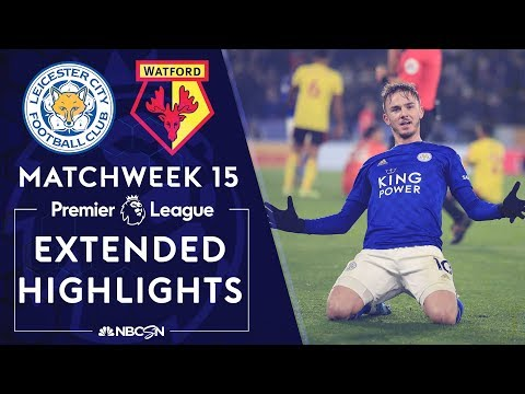 Leicester City v. Watford | PREMIER LEAGUE HIGHLIGHTS | 12/04/19 | NBC Sports