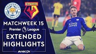 Leicester City v. Watford | PREMIER LEAGUE HIGHLIGHTS | 12/04/19 | NBC Sports