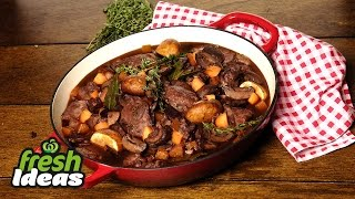 weeknight coq au vin recipe