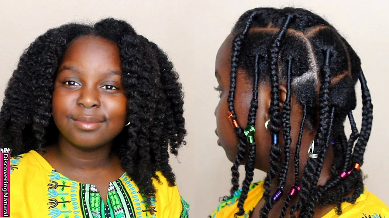 African Threading, Braids, And Twists
