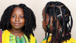 African Threading, Braids, and Twists | Natural Hair Kids Style