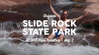 Camping at Slide Rock State Park, AZ | 10K Road Trip Vlog Day 2