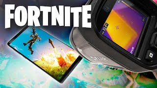 Galaxy Note 9 vs FORTNITE - Does It Overheat?