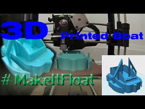 Triple Float Yacht 3d Printed - #MakeItFloat
