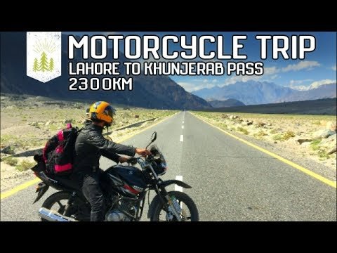 Epic Motorcycle Trip | Lahore to Khunjerab | 2300-km  | Pakistan | 7-days | motorcycle heaven | HD