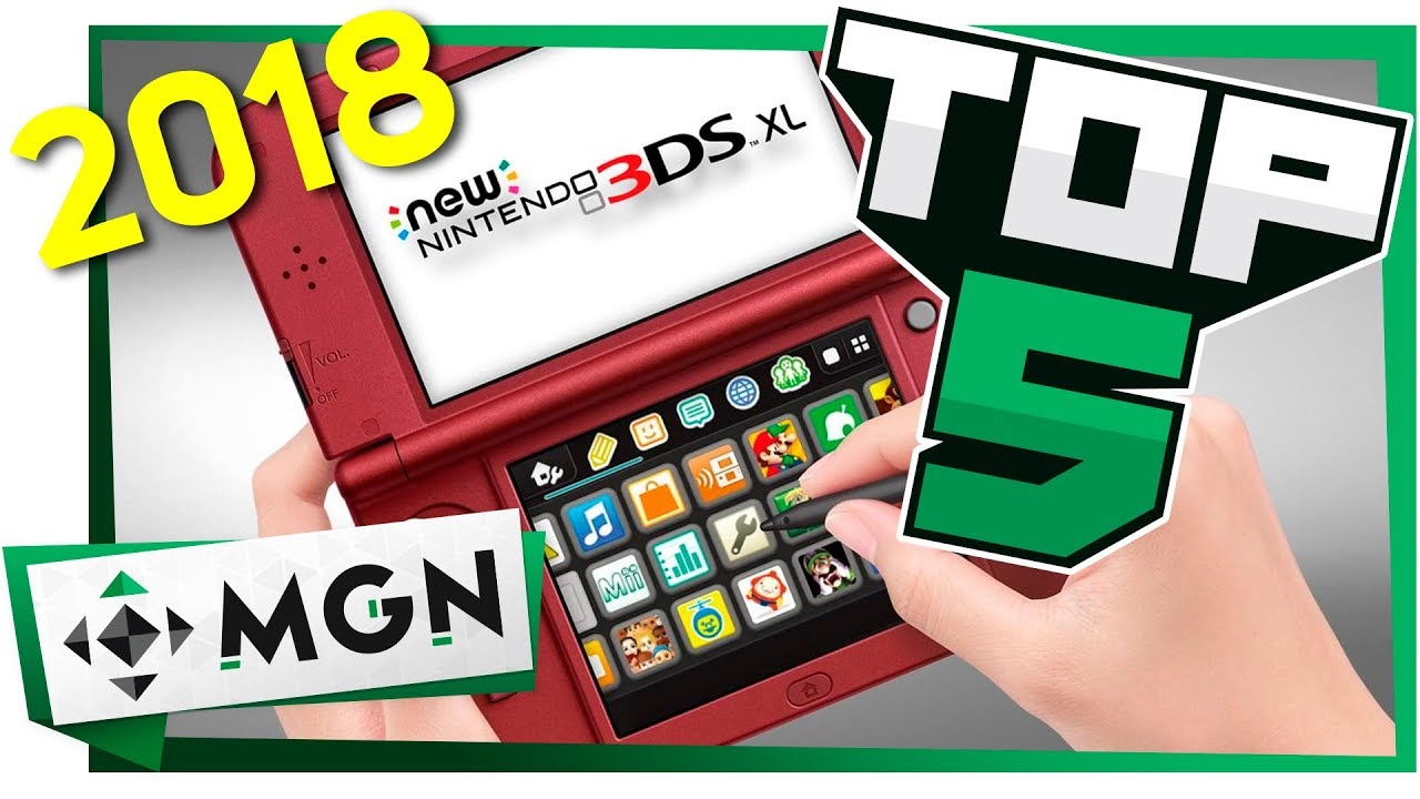 5 Grandes Juegos Que Llegan Al Nintendo 3ds En 2018 Mgn Youtube