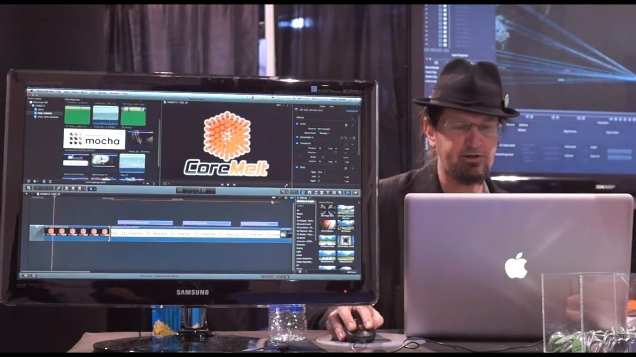 Roger Bolton demos SliceX from Coremelt on Final Cut Pro X