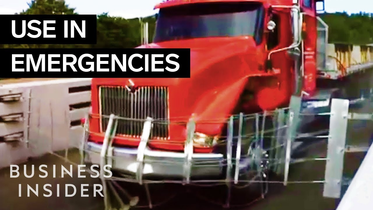 How Truck Escape Ramps Stop Out-Of-Control Big Wheelers
