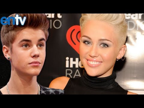 Miley Cyrus Reacts to Justin Bieber Dating Rumors