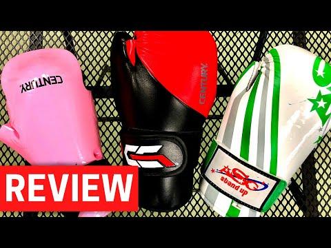 SPARRING GEAR GLOVE REVIEW | Century Martial Arts & Allstar Gear