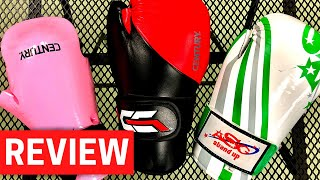 SPARRING GEAR GLOVE REVIEW | Century Martial Arts & Allstar Gear
