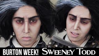Sweeney Todd Makeup | HALLOWEEN 2014