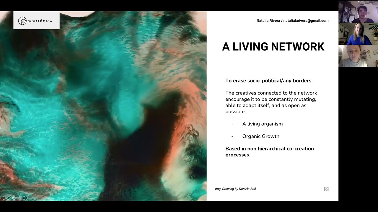Suratómica: a collaborative global network of artists and scientists for new knowledge-creation.