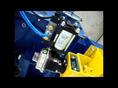 TCC with Pneumatic Rotary Valve and Suction Manifold