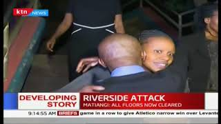 Relief evident as families of victims rescued overnight reunite | Riverside Attack