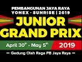 Pembangunan Jaya Raya Junior Grand Prix 2019 (5 May 2019)