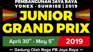 Pembangunan Jaya Raya Junior Grand Prix 2019 (5 May 2019)