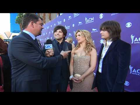 Academy of Country Music Awards  The Band Perry