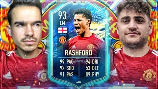 FIFA 21 : RASHFORD 93 TOTS SQUAD BUILDER BATTLE VS ELIASN97 !! 😱🔥