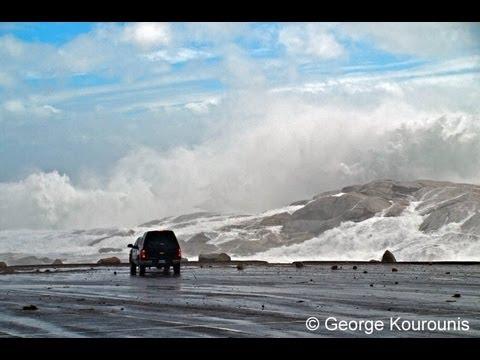 Hurricane Earl Landfall - Nova Scotia