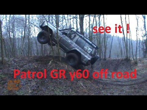 Patrol Y60 off road 4x4 long and short in some action - it's easy you can do it ;)