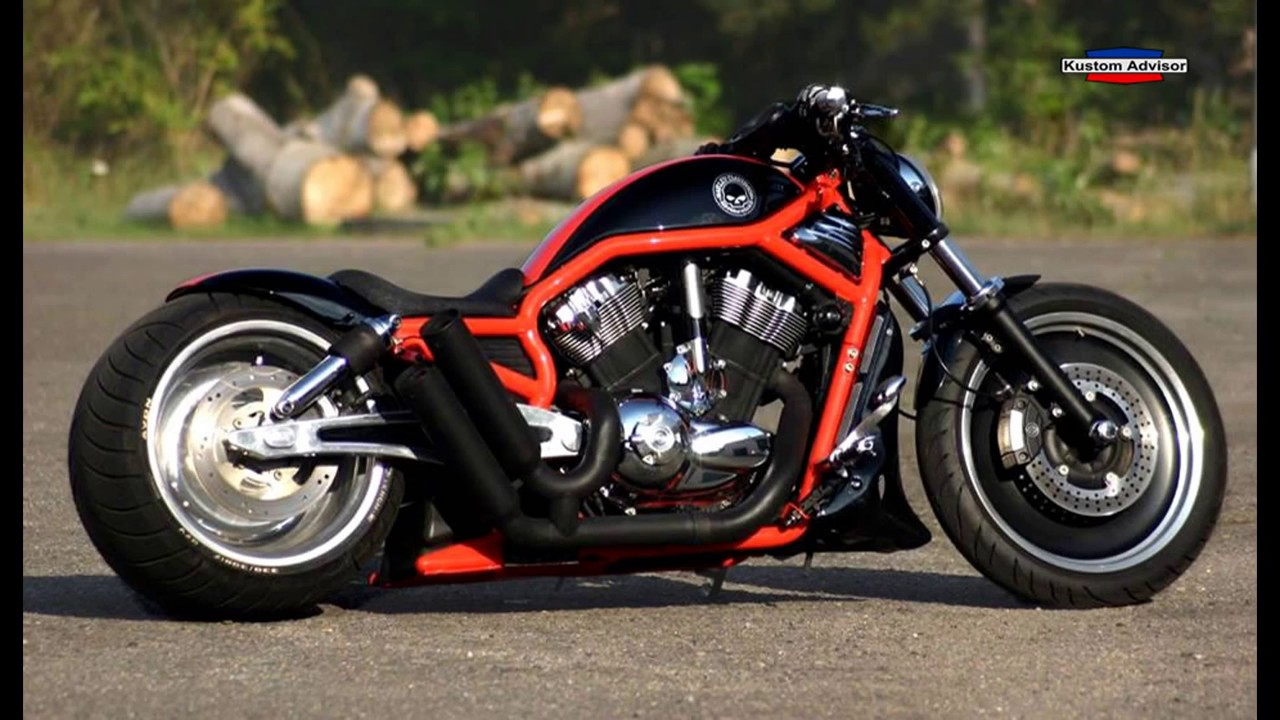 harley davidson v rod custom muscle usa youtube. Black Bedroom Furniture Sets. Home Design Ideas